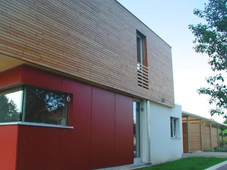 Wunderbar Fassade Modern Gestalten Fassaden | Hauer Holztechnik Aus Langenlois